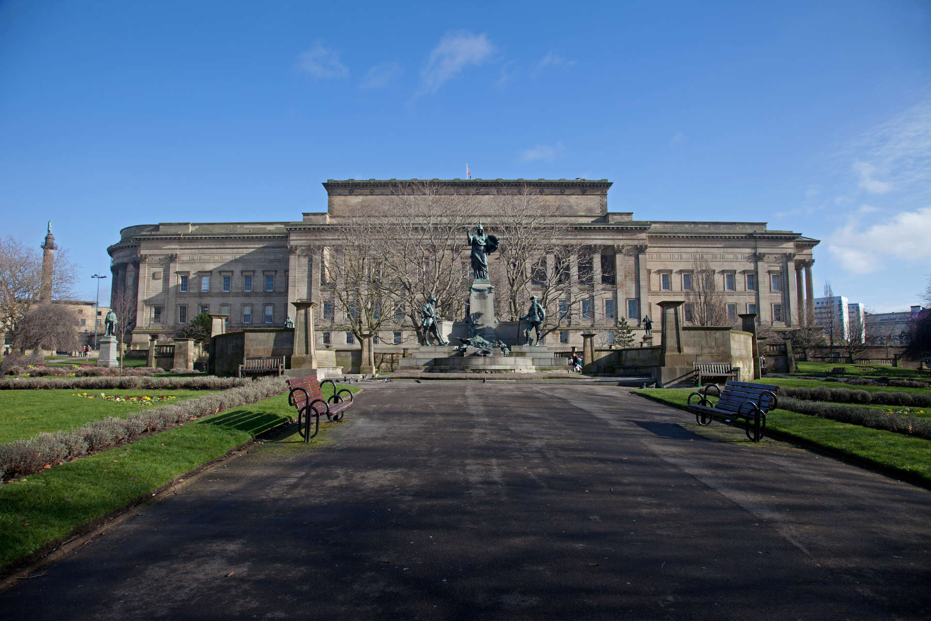 View of St Georges Hall Liverpool